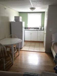 beach villa suites kitchen view