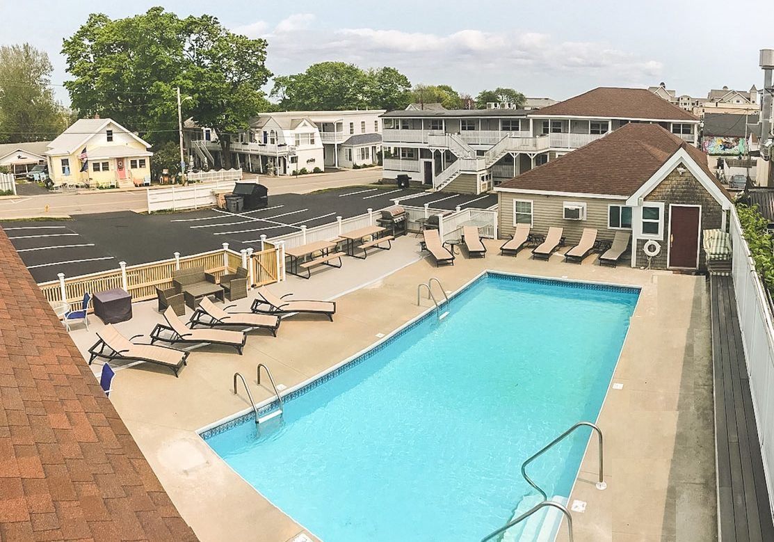 beach villa pool old orchard beach motel